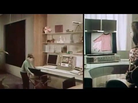 Your Future Home - As Seen From 1960s - Big Screen TV Online Shopping & More