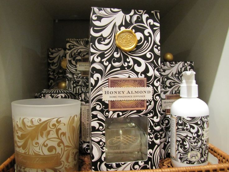 Michel by Design products - Honey Almond scent! www.expressionsbygigi.com