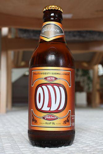Yummy Finnish Beer.