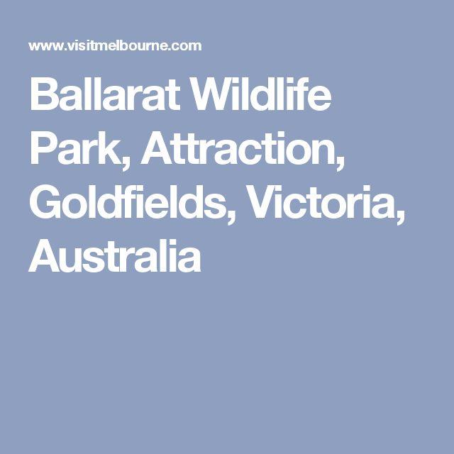 Ballarat Wildlife Park, Attraction, Goldfields, Victoria, Australia