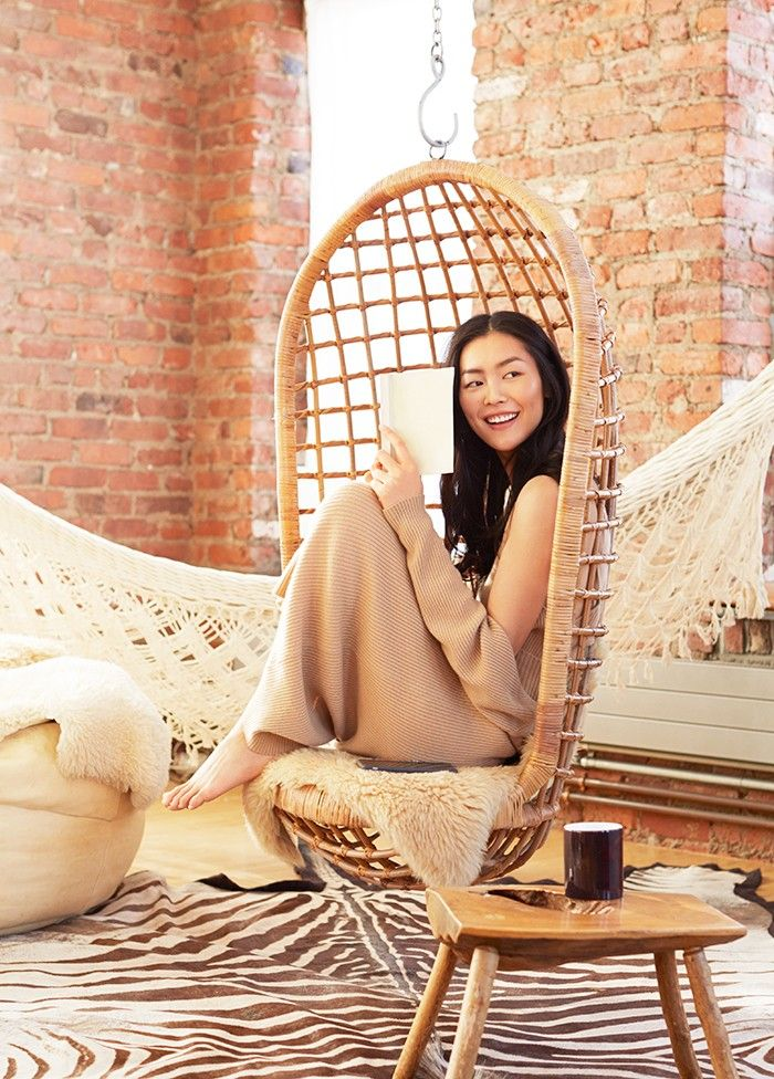 Exclusive: Liu Wen Models 3 Stunning Beauty Looks for Estée Lauder via @ByrdieBeauty