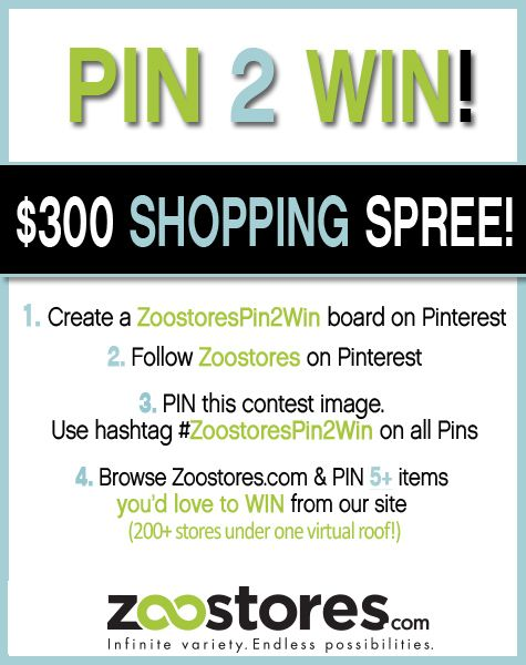 #ZooStoresPin2Win