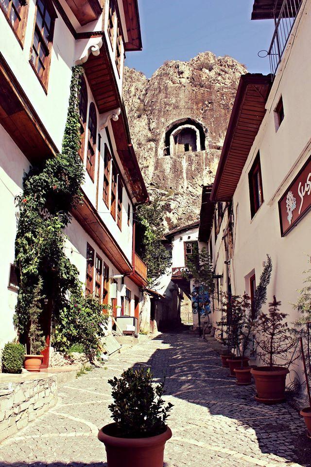Kral Kaya Mezarlıkları/Amasya -Turkey