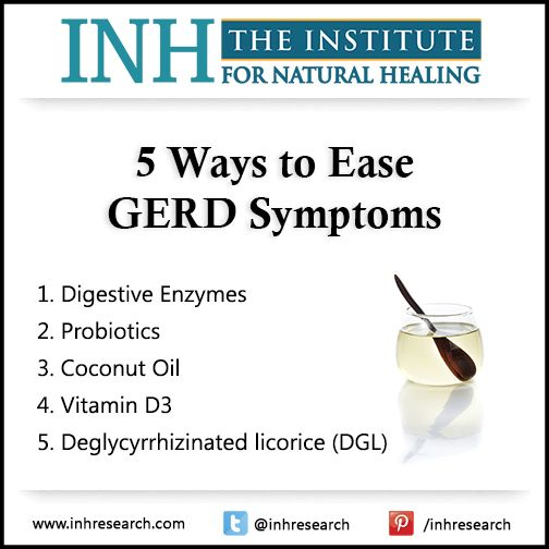 Harmful antacids and antibiotics won't fix your GERD. Try these five safe, natural ways to ease your symptoms instead.