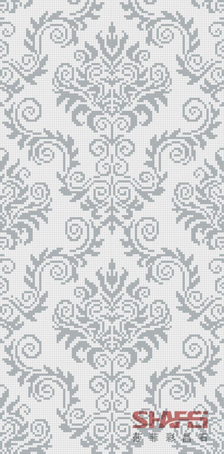 Art Crytal Glass Mosaic Mural PT-019(Size: 1600x2400mm)