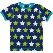 Camiseta MAXOMORRA de algodón orgánico Blue Star