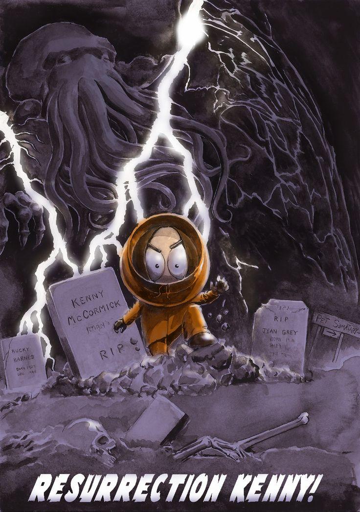 Kenny McCormick as Resurrection Man by Nick Perks