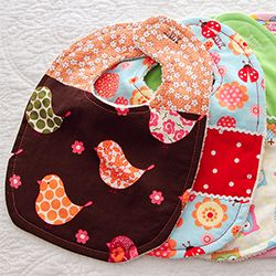 Adorable Custom Baby Bibs - A Tutorial
