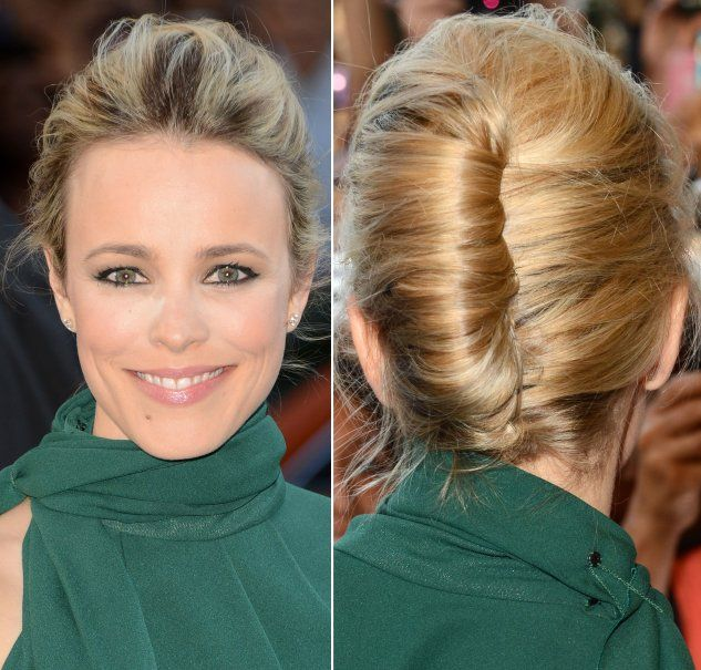French Twisted Updos | French Twist hairstyles for Christmas holiday