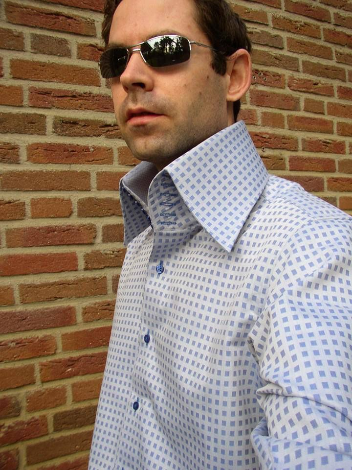 High collar by jeurissen and benjamin starched stiff for Stiff collar polo shirt