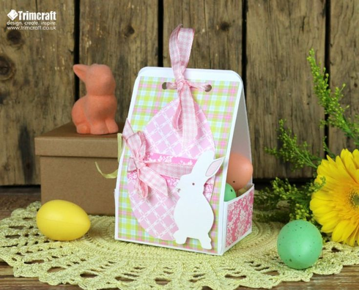 42 best first edition pretty posy images on pinterest team diy easter gift box tutorial with free template negle Choice Image