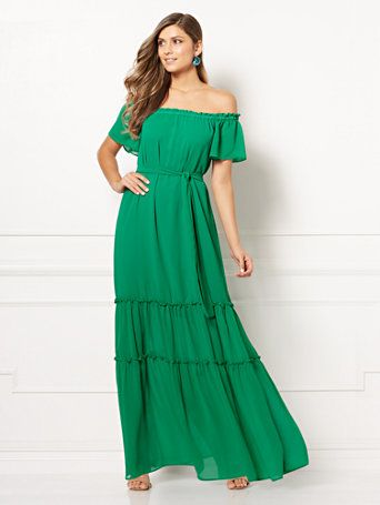 a54a8b78f Shop Eva Mendes Collection - Concetta Maxi Dress. Find your perfect size  online at the best price at New York   Company.