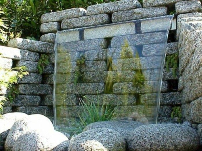 30 best Garden Revamp images on Pinterest Fonts, Ponds and Backyard - wasserfall garten wand