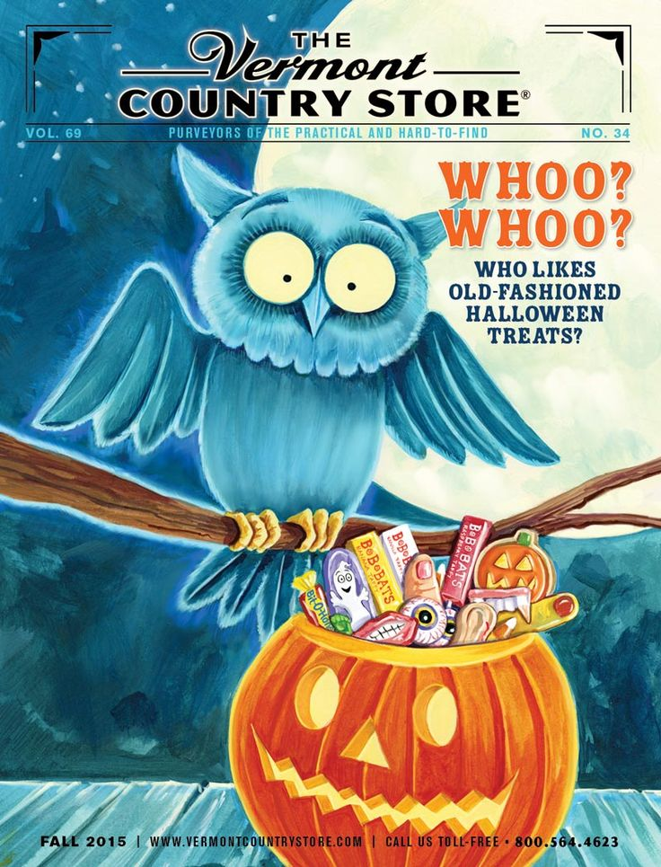 The Vermont Country Store Catalog Cover ~ Fall 2, 2015