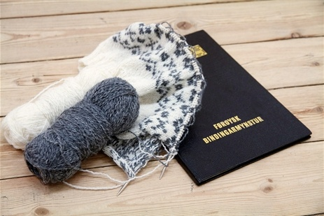 Faroese knitting book