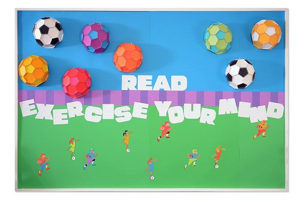 Kick Off the School Year with a Sports and Reading-Themed Bulletin Board!