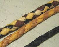 Leather is Better: Making a Four-Part Round Braid