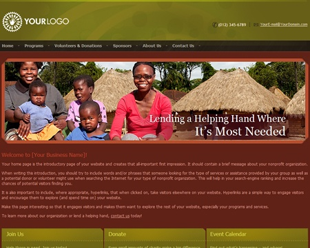 Impressive Web Design available in 6 color themes. Comes ready with SEO friendly Content & Coding.