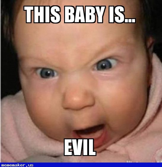 177 best images about Evil Baby Meme Creator on Pinterest ...