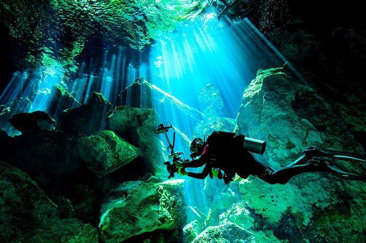 Ein Erfahrungsbericht : Tauchen mit Cenote Adventures in den faszinierenden Cenoten der Yucatan Halbinsel, ein Tauchreise