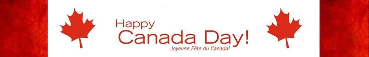 | Happy Canada Day 2014 banner