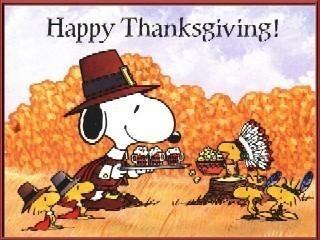 Fall Crisp & Happy Thanksgiving