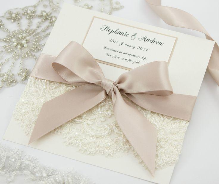 'Princess' invitations by The Boutique Paper Co.  www.theboutiquepaperco.com.au