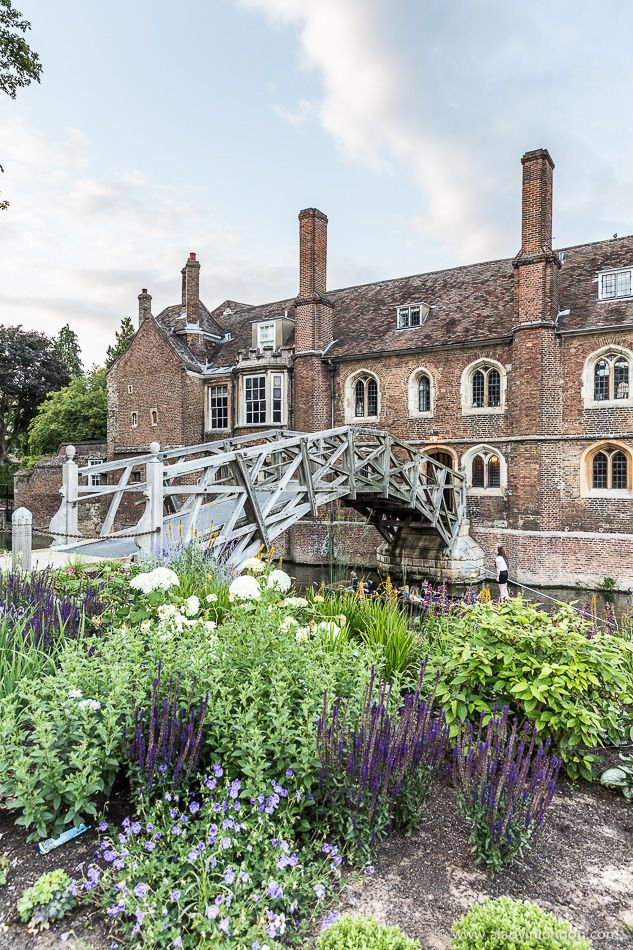 Mathematical Bridge at Queens' College, Cambridge, England
