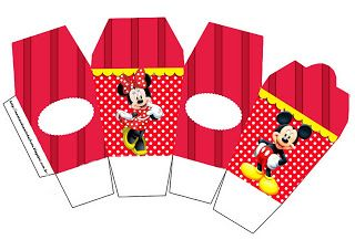 LARGE SET-- Montando a minha festa: Mickey e Minnie