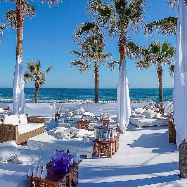 Welcome to NIKKI BEACH MARBELLA, Spain!