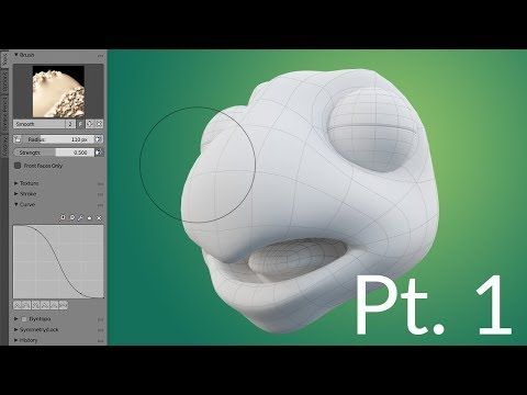 CGC Classic: Creating a Cartoon Turtle Pt.1 - Modeling the Head (Blender 2.6) - YouTube