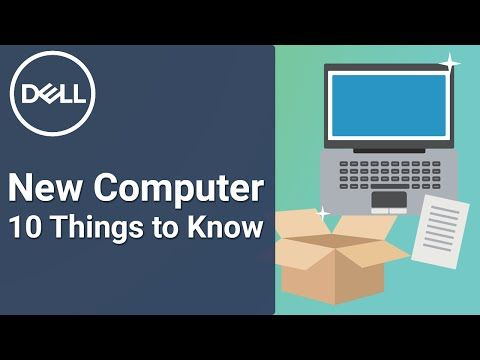 Learn about new Dell computer owner information. Get the answers to questions most Dell owners have when they first get their new computer and start unboxing a Dell.   To register your dell, go to www.dell.com/register