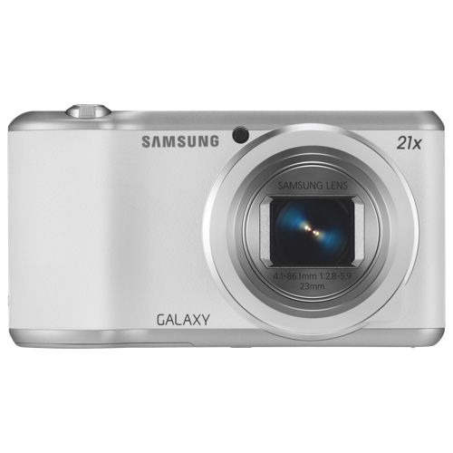 Samsung Galaxy SF2 16MP Android OS Digital Camera - White. A new camera to capture memories! #SetMeUpBBY