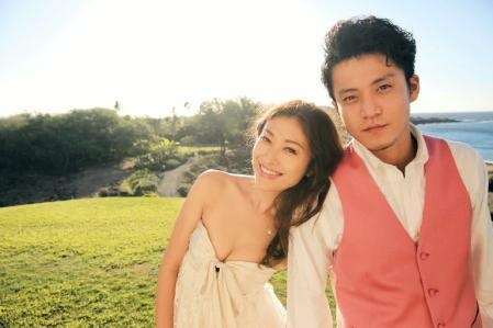 Celebrity couple Yu Yamada and Shun Oguri