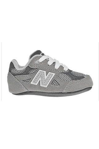 New Balance. LOOK SPORTY    Zapatillas grises New Balance para bebés.