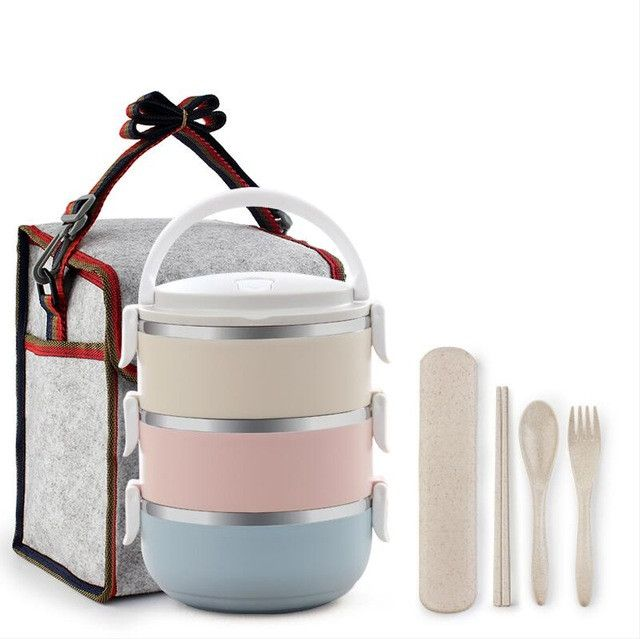 Portable Stainless Steel Food Containers