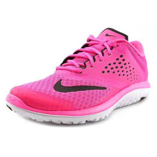 Nike Women's FS Lite Run 2 Running Shoe Pink Pow/White/Black 9.5