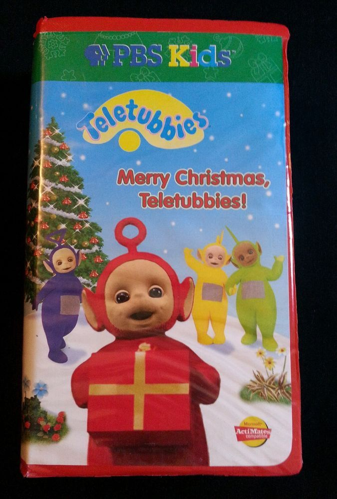 Teletubbies - Merry Christmas, Teletubbies! (VHS, 1999, 2-Tape Set)