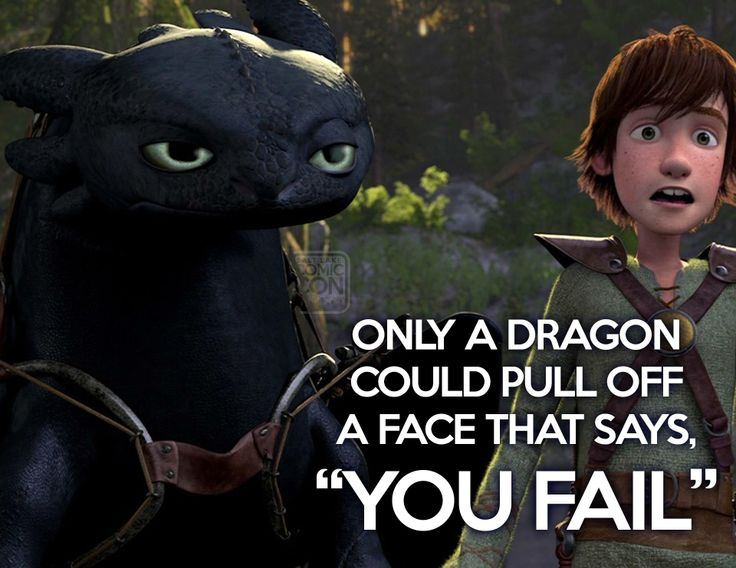 Toothless dishes out the sass...  #toothless #dragon #howtotrainyourdragon #movies #cute