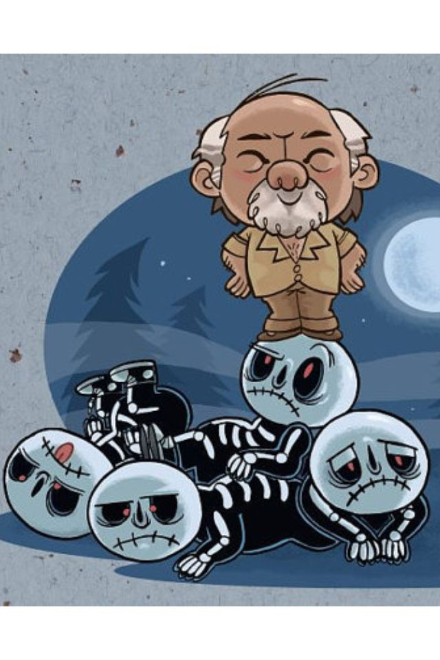 Amazing little cartoon of miyagi and the kobra Kai boys ...