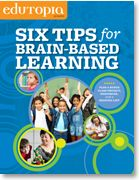 This PDF download includes practical tips across the K-12 spectrum as well as a reading list and a variety of resources to help you learn more about this field of brain-based learning.