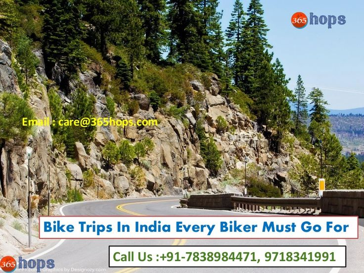 Bike Trips In India Every Biker Must Go For  >>> India has a lot of hidden beauty around. The roads have considerably developed. A long #biketrip on some of the famous as well as offbeat places surely makes it worth. Just take your bike and get ready to hit the roads. Whether you are alone or with a group, you must try these #biking routes in #India.