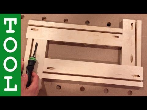 An Indispensable Router Accessory: DIY Adjustable Routing Template - StumbleUpon
