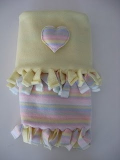 "Mr. Mom ""Woobie"" Blanket Tutorial by Melissa of Crafting With Cat Hair Blog"