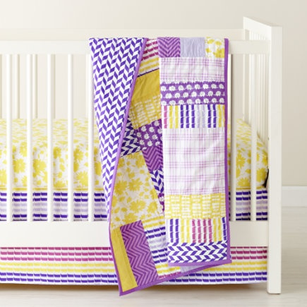 Purple Baby Bedding For Your Little Girl's Nursery