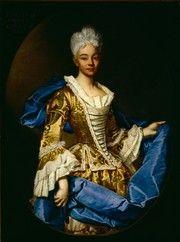 Ritratto di Elisabetta Piavani Guidotti 1725 Ghislandi olio su tela Bergamo