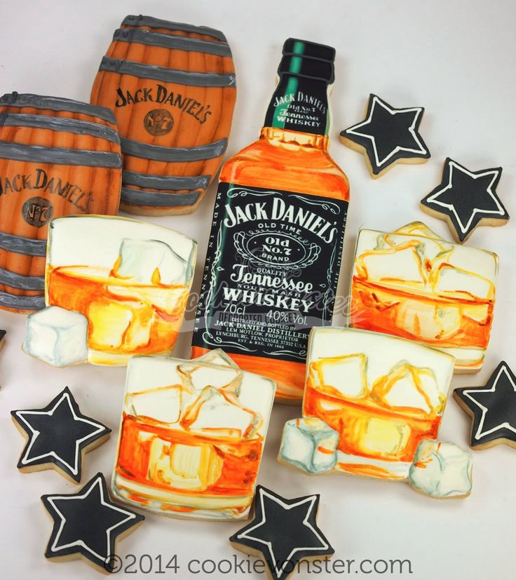 Cookievonster...don't do alcohol, but these are pretty amazing looking cookies.