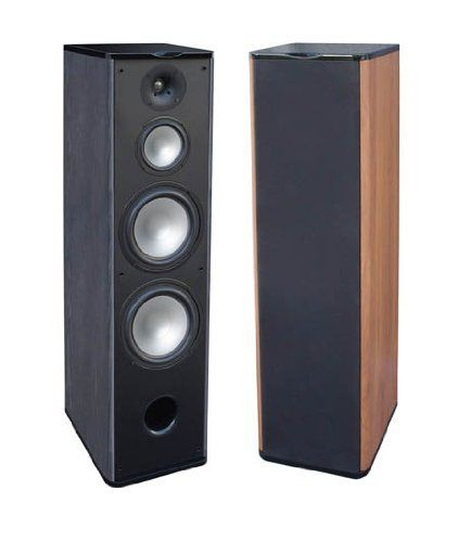 """() Premier Acoustic PA-8F Tower Speakers - Black by Premier Acoustic. $499.00. Dual 8"""" Polygraphite long throw woofer - 1"""" Titanium Tweeter - Wattage 50-200 - Frequency Response - 35-20KHZ - Cherry or Black Piano High Gloss Finish"""