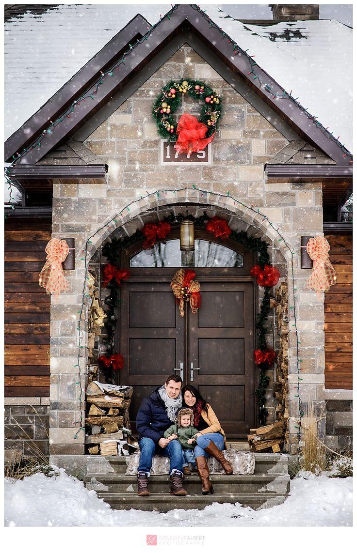 Photos de famille d'hiver / Winter family pictures – Famille Marcotte, Lefaivre