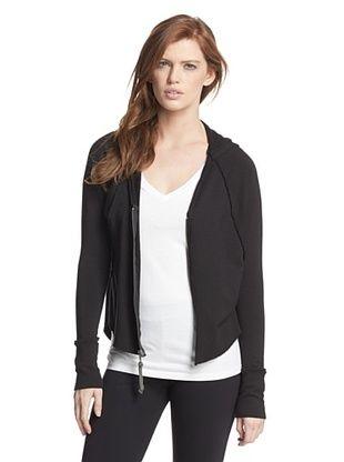 57% OFF R&R Surplus Women's Zip Hoodie (Black)
